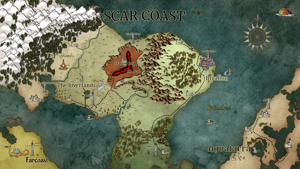 Wonderdraft map-making software