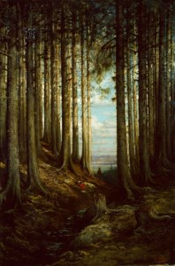 """Deer in a Pine Forest"", by Gustav Doré, is one of the inspirations of Koth"
