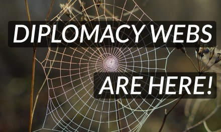 Diplomacy webs: interactive organizations!