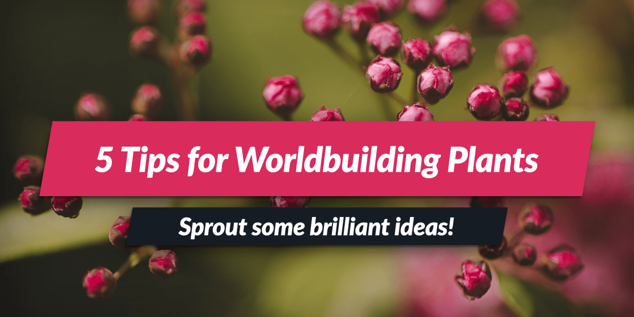 Fictional Plants! | 5 tips for making magical & scifi plants