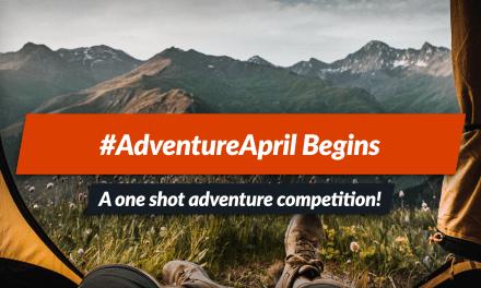One-shot adventure competition — #AdventureApril!