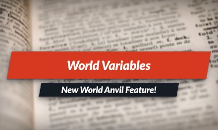 New Feature: World Variables system