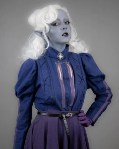 Costume dark elf ginny di