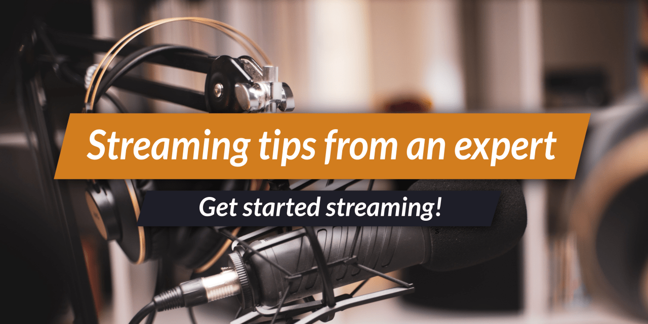 Streaming tips to share your worldbuilding!