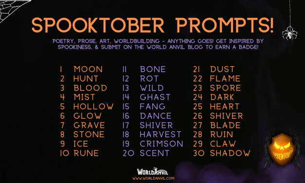 Spooktober with World Anvil | Flash Challenge