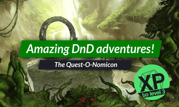 Quest-O-Nomicon review: inspiring DnD adventures!