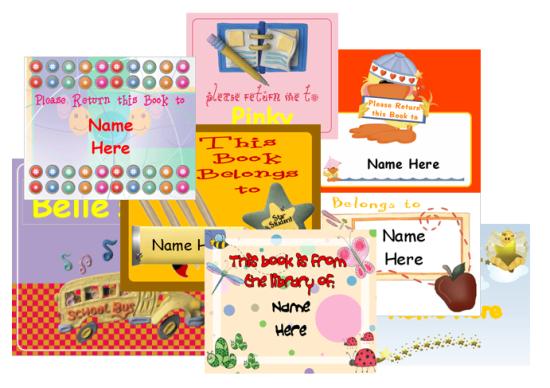 Kids School Teacher Labels