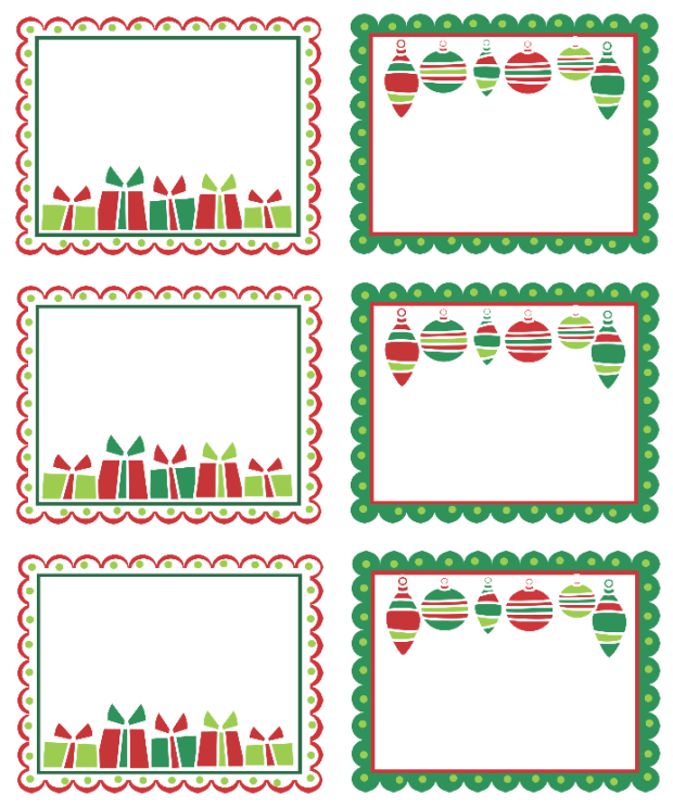 Christmas Labels Ready To Print Free Printable Labels Templates Label Design WorldLabel Blog