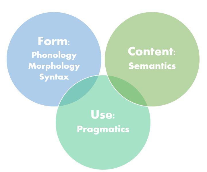 venn diagram with form, content, and use