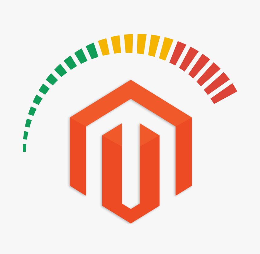 Logo Magento a rychloměr
