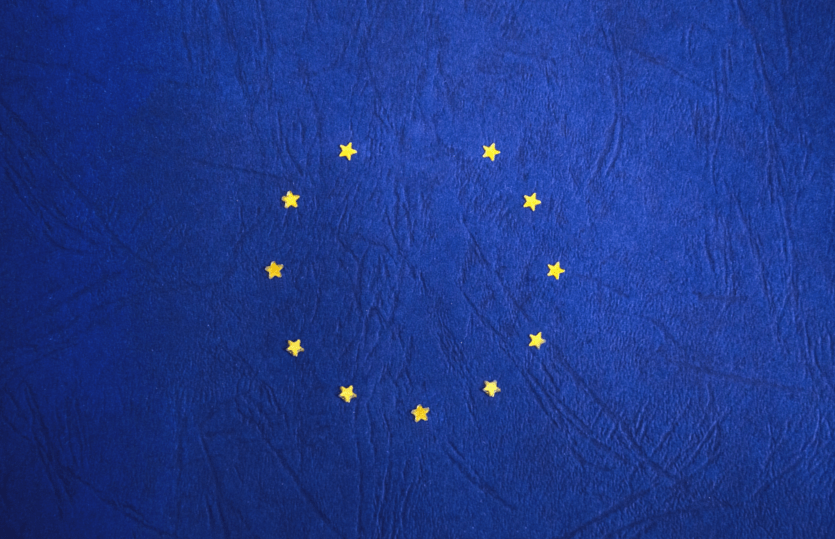 European Flag missing one Star