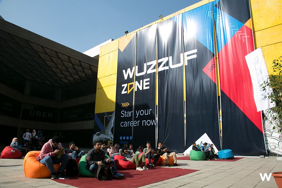 WUZZUF Zone at Egypt Career Summit 2018