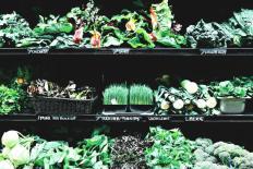 Green veggies for skin health