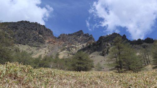 トーミの頭から黒斑山、蛇骨岳