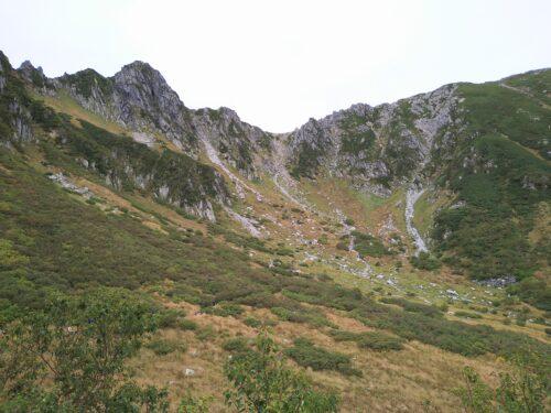 2021/09/11-12 木曽駒ヶ岳と濃ヶ池