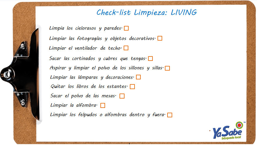 check-list living