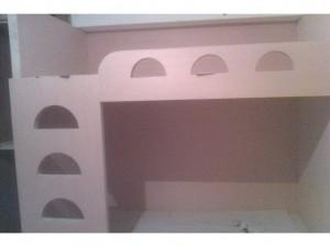 木工裝潢-木作雙人床