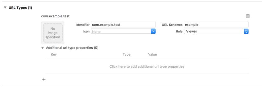 iOS Custom URL Scheme
