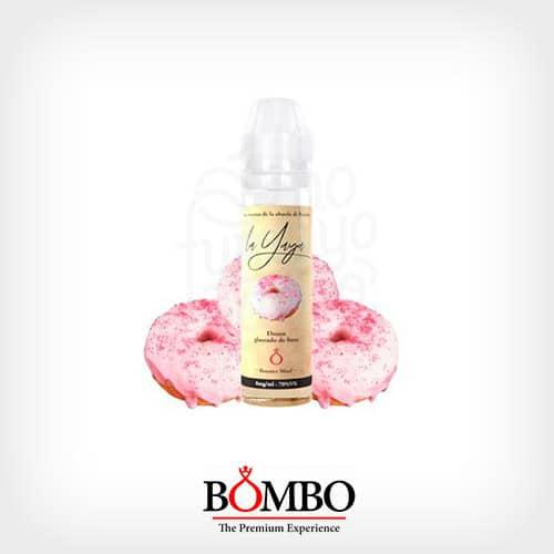Líquido Donut Glaseado de fresa Booster Bombo La Yaya