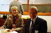 Mr. Bateman with his wife Birgit