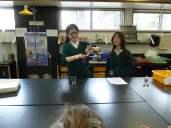 Gr. 2's Visit Sr. Science Wing