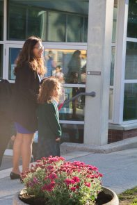 First day of school at the Junior School