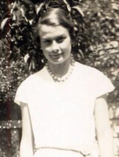 Nora McBride circa 1934