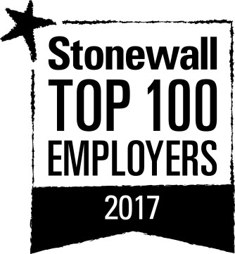 Stonewall Top 100 Employers 2017