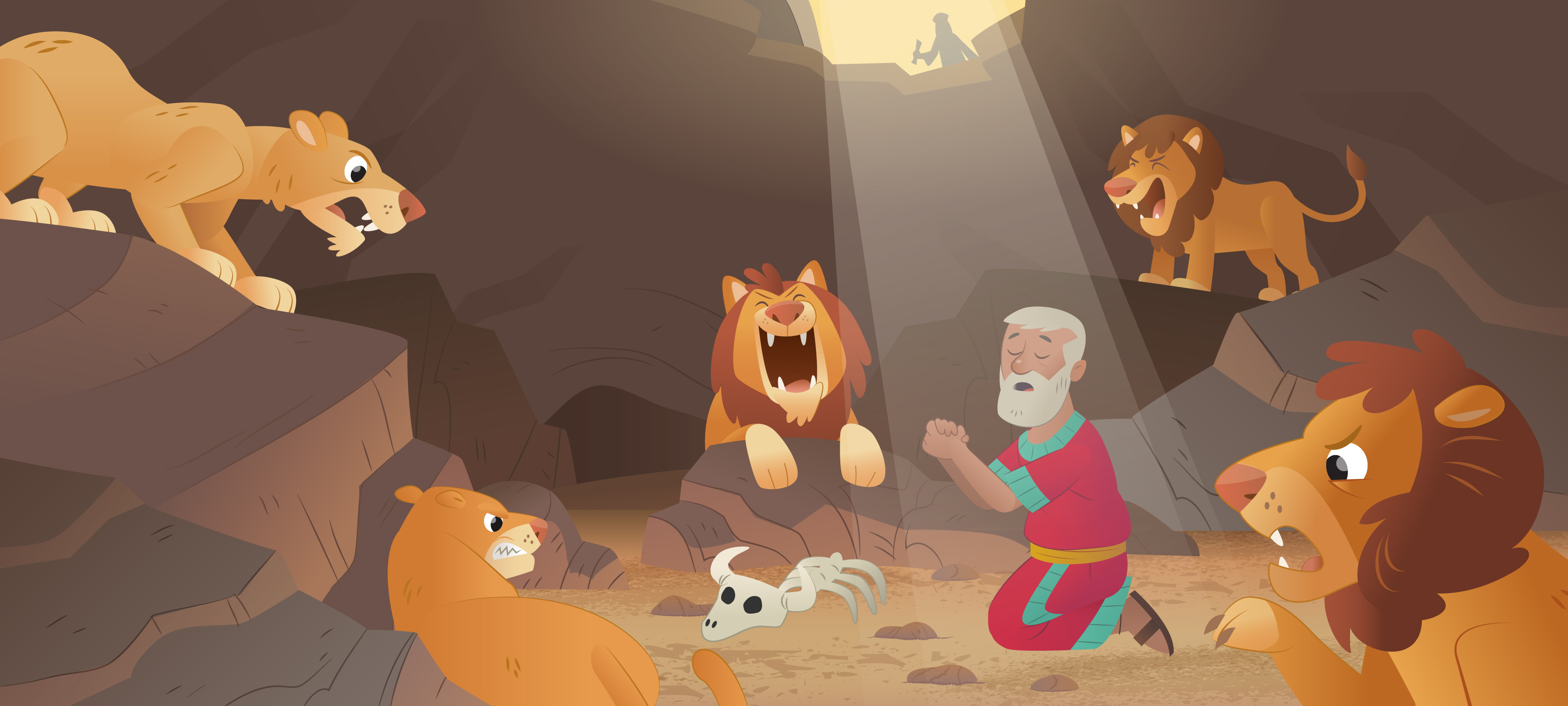 New Bible App For Kids Story Daniel In The Lions Den A