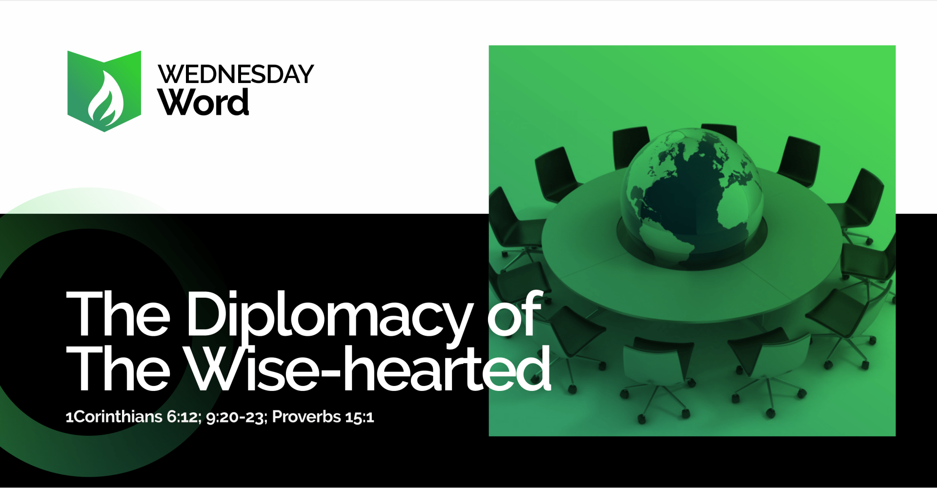 The diplomacy of the wise-hearted
