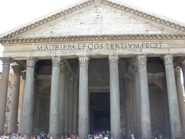 Roma_Panteón Agripa