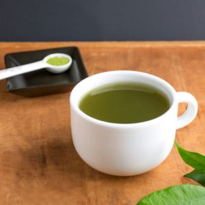 A cup of Yum Matcha