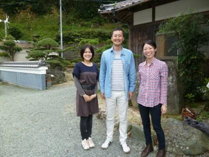 島根県からやって来た三人の若者たち