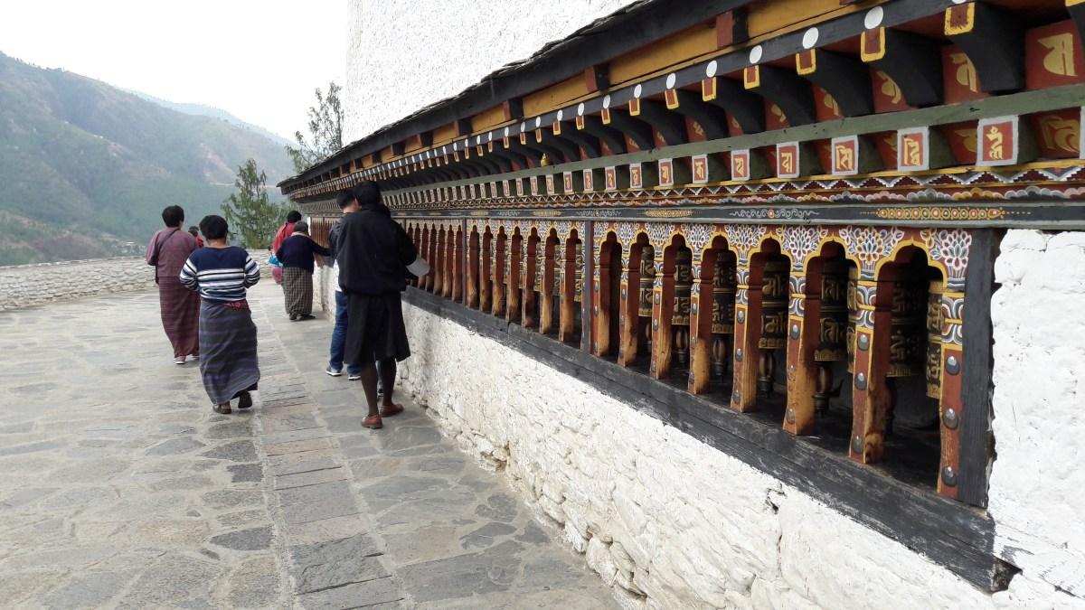 消失中的香格里拉【不丹】(4) – 路過的景點