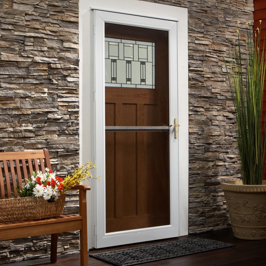 Picking The Right Andersen Storm Door Glass Type