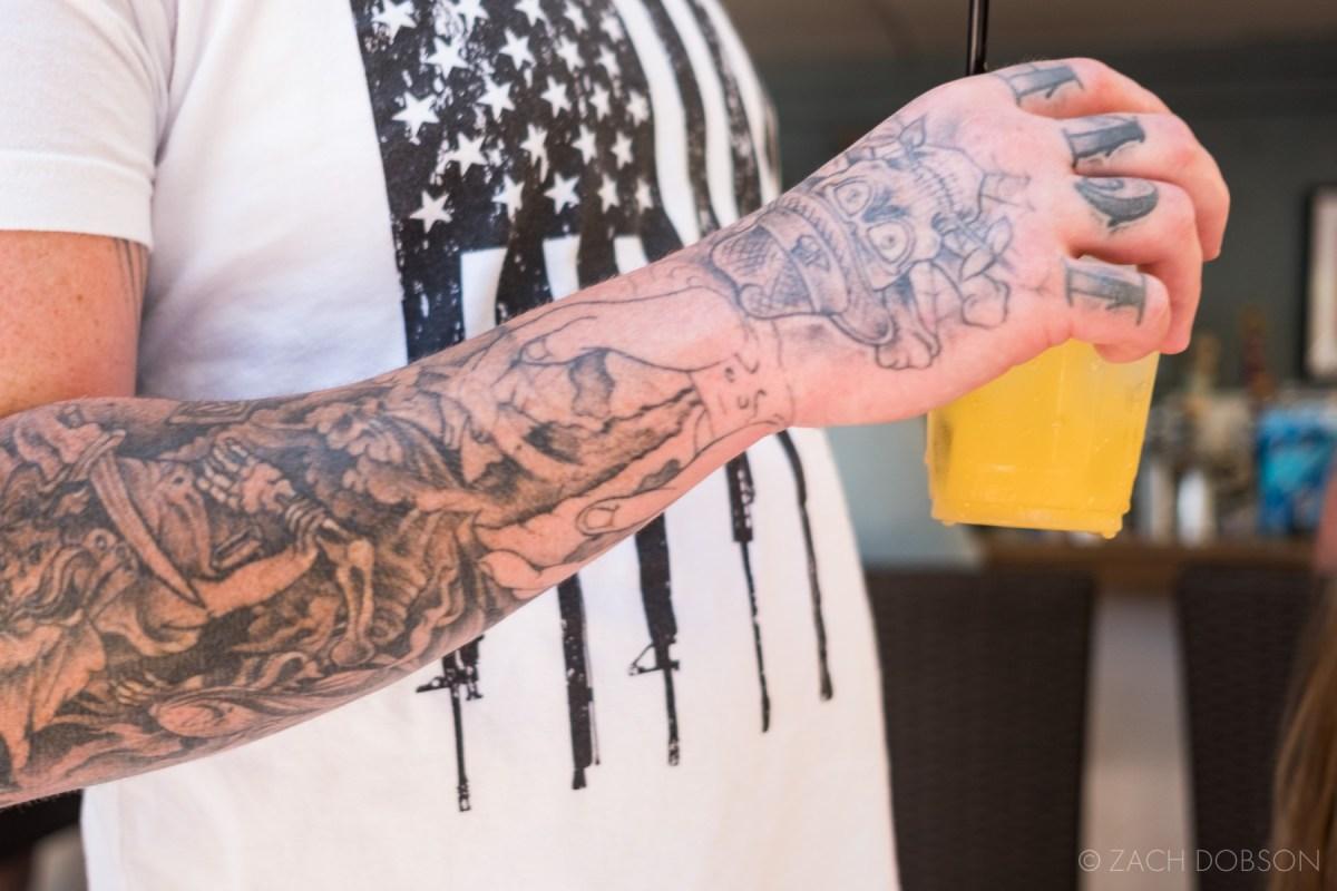 Florida keys tattoo cocktail