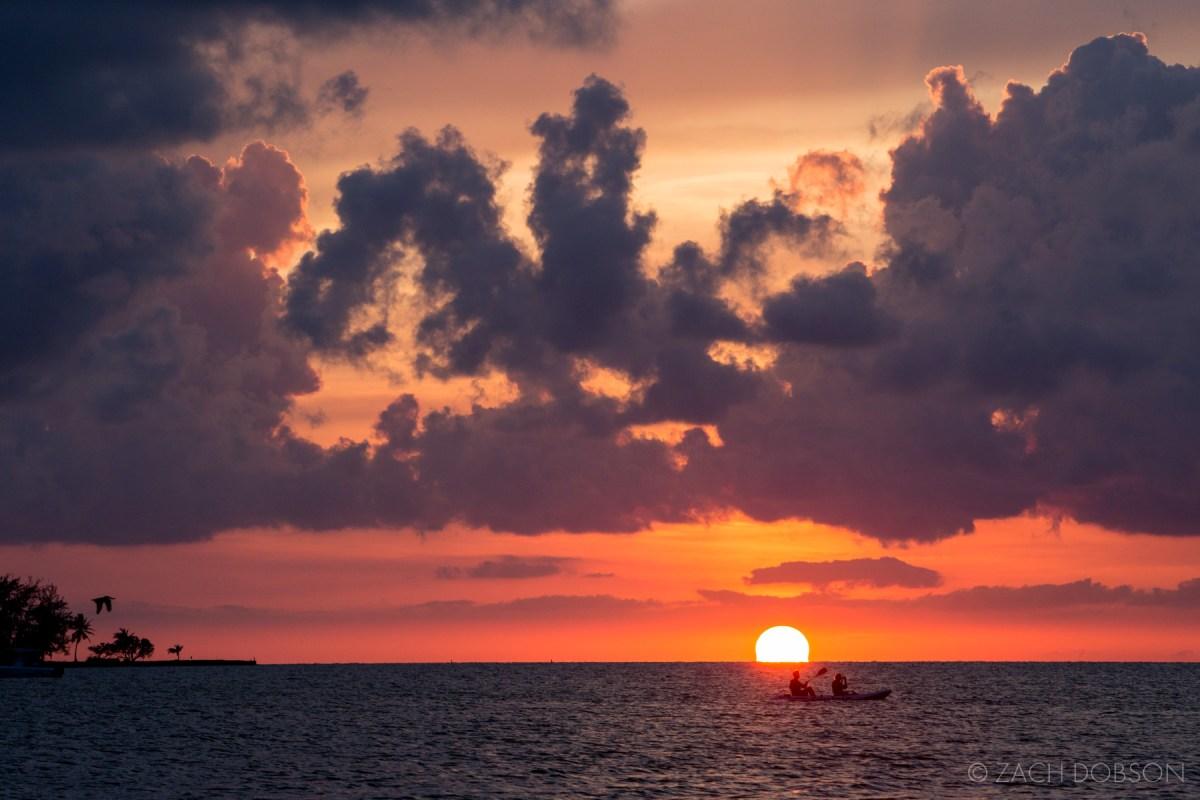 Sunset. Islamorada, Florida Keys.
