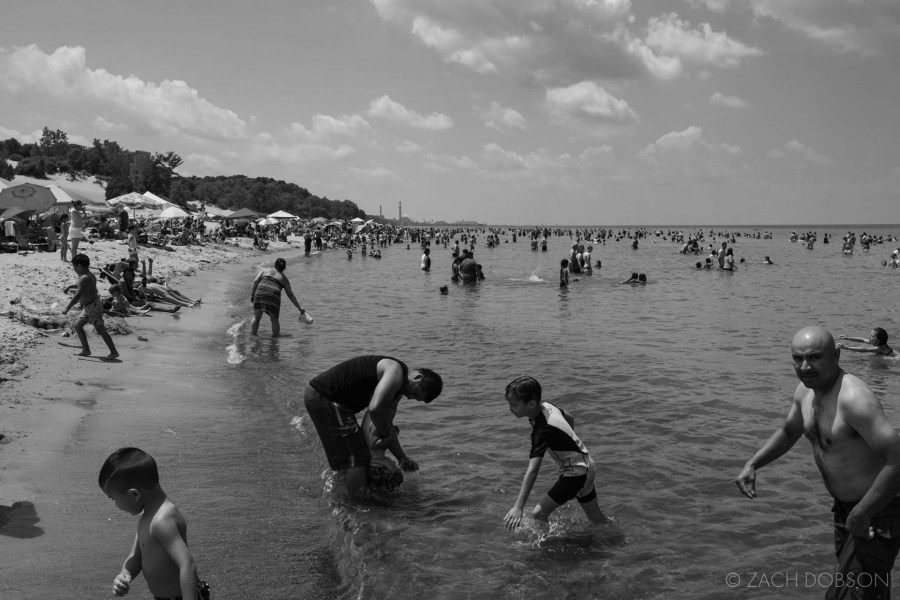 indiana dunes state park swimmers