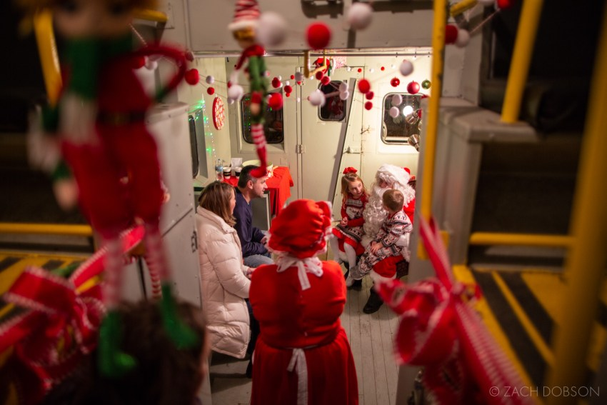 Nickel Plate Express, Reindeer Ride: Bright Night