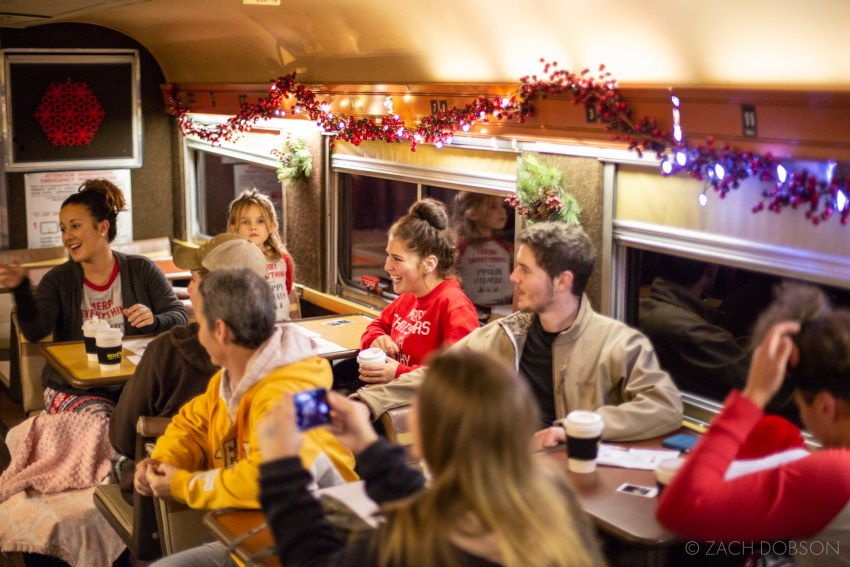 Nickel Plate Express, Reindeer Ride: Bright Night