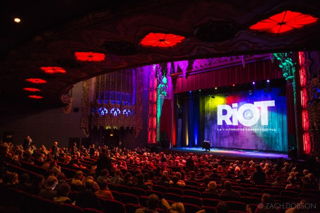 RIOT LA Alternative Comedy Festival