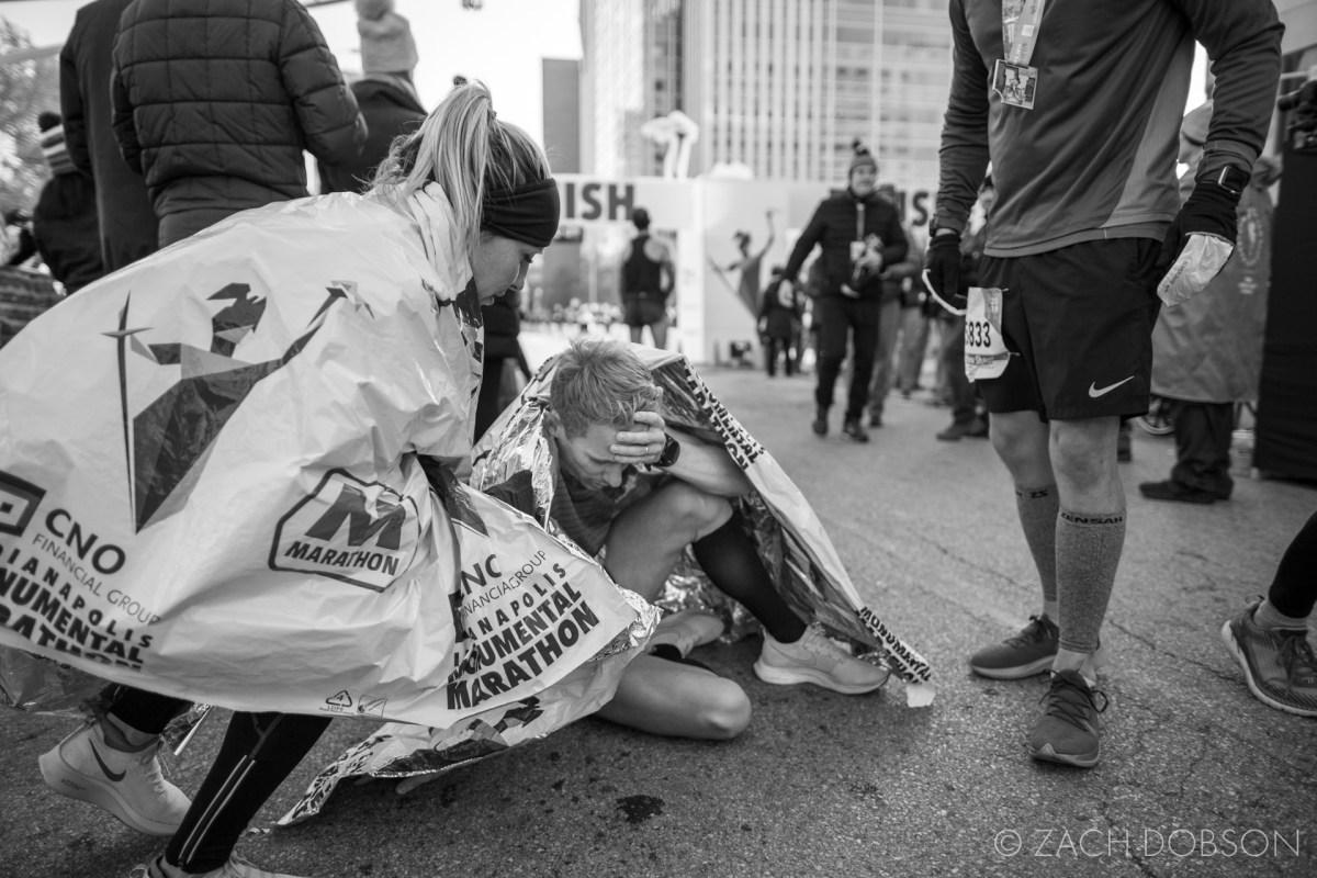 Indianapolis Monumental Marathon, 2019. finisher