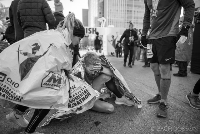 Indianapolis Monumental Marathon, 2019. finisher