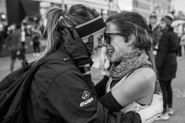 Indianapolis Monumental Marathon, 2019. celebrate