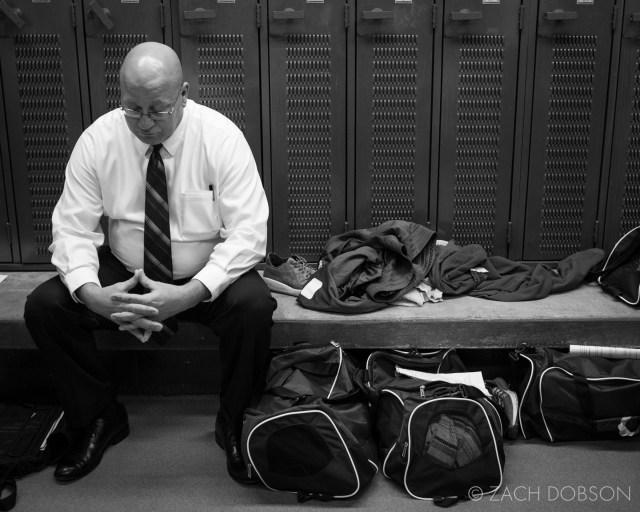 indiana high school basketball coach lockerroom