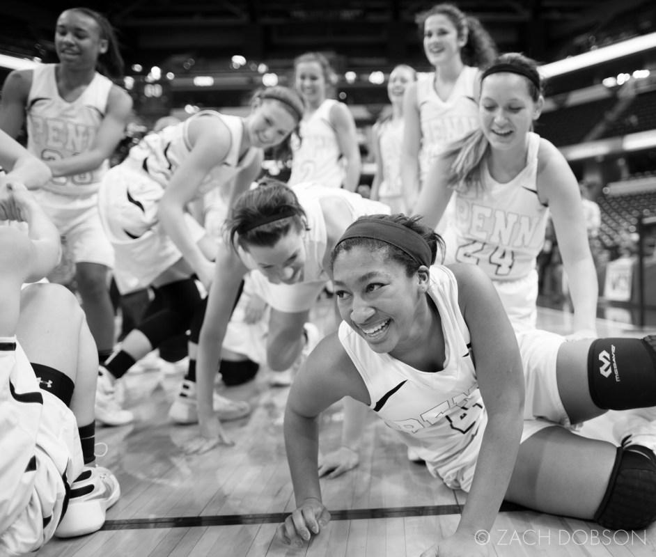 indiana high school basketball girls state champions penn