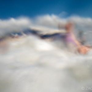 abstract underwater photo