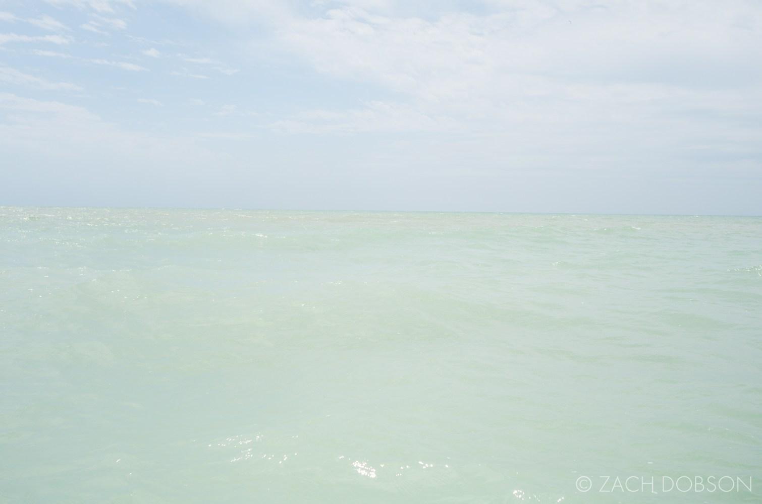 minimalist sky and sea