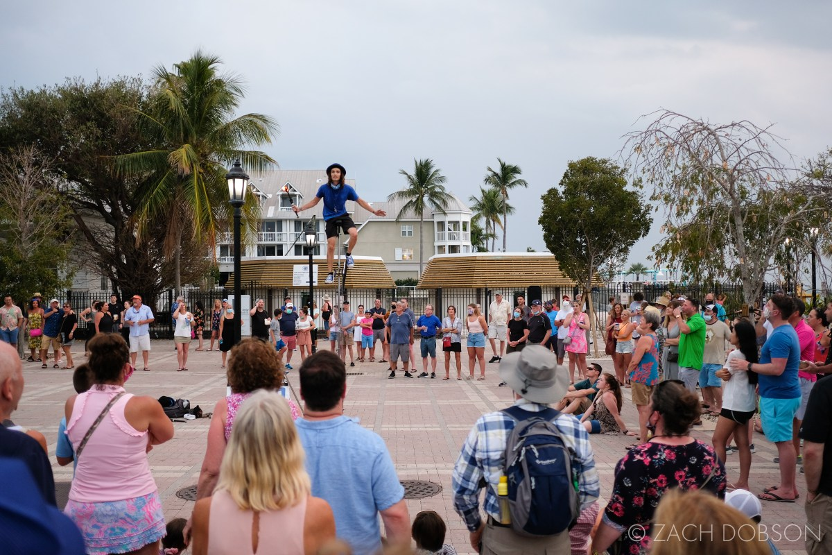 visit key west with kids mallory square