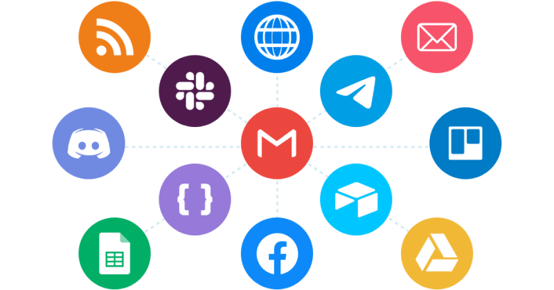 An image showing various app icons